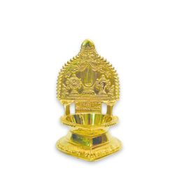 "Sri MahaVishnu symbol lamp (Height-8"" , Weight-800 Grms, Diameter-3"" )"