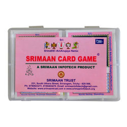 Srimaan Card Game, single piece