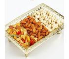 Ghasitaram Golden Dryfruit Tray, 700 gms