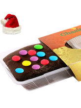 Ghasitaram Chistmas Gifts - Gems Chocolate Brownie