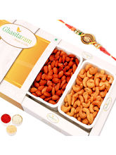 Punjabi Ghasitaram Salted Cashews And Salted Almon...