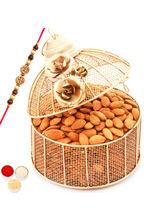Punjabi Ghasitaram Rakhi Hampers Golden Cage With ...