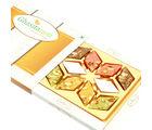 Punjabi Ghasitaram Sweets Assorted Kaju Katlis In White Box
