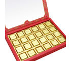 Punjabi Ghasitaram Diwali Sugarfree Chocolates 24 pcs Pink Printed Assorted Sugarfree Chocolate Box