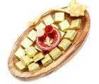 Ghasitaram Diwali Hampers- Wooden Chocolate Platter With Mini Pooja Thali