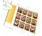 Punjabi Ghasitaram Diwali Gifts Sweets Bournvita Cashew Laddoo 12 Pcs