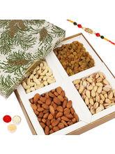 Punjabi Ghasitaram Green Leaf Dryfruit Box With Om...