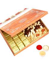 Ghasitaram Wooden 12 Pcs Chocolate, Nutties And Na...