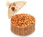 Ghasitaram Mothers Day Golden Cage With Almonds