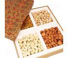 Ghasitaram Mothers Day Brown Printed Dryfruit Box