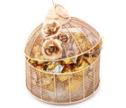Ghasitaram Golden Cage With Roasted Almond Sugarfree Mothers Day Chocolates