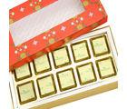Punjabi Ghasitaram Diwali Sugarfree Chocolates Red 10 pcs Mixed Nuts Sugarfree Chocolate Box