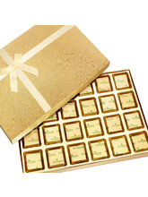 Punjabi Ghasitaram Diwali Sugarfree Chocolates Golden 24 pcs Assorted Sugarfree Chocolates Box