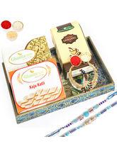 Punjabi Ghasitaram Peacock Tray Sweets And Tea Rak...