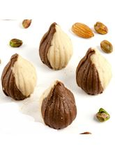 Punjabi Ghasitaram Sugarfree Chocolate Twin Mawa Modaks, 200 gm