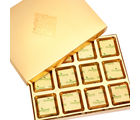 Ghasitaram Golden 12 Pcs Roasted Almond Sugarfree Mothers Day Chocolates Box