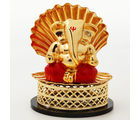 Ghasitaram Mothers Day Gifts Shell Gold Ganesha