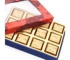 Ghasitaram Orange Printed Assorted Sugarfree Mothers Day Chocolates Box