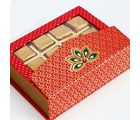 Punjabi Ghasitaram Diwali Sugarfree Chocolates Pink Designer Sugarfree Chocolates Box