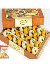 Punjabi Ghasitaram Holi Sweets-Mawa Peda Box, 200 ...