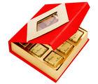 Ghasitaram Red 9 Pcs Sugarfree Mothers Day Chocolates Box