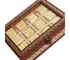 Punjabi Ghasitaram Diwali Sugarfree Chocolates Brown 12 pcs Metal Box