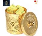 Ghasitaram Ghasitaram Gifts Chocolates-Golden Chocolate Jar