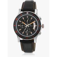 Maxima Attivo Collection Black/Black Chronograph Watch