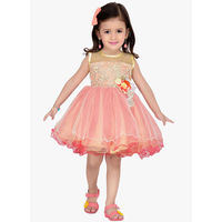 Aarika Party Dress,  pink, 3-4 y