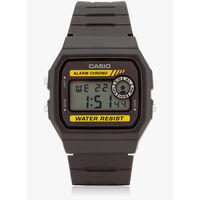 Casio Black/Brown Resin Digital Watch