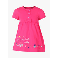 FS Mini Klub Fuchsia Casual Dress,  fuchsia, 0-3 m