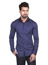 Manu Couture Designer Shirt For Men's (MCMS-49), blue, l