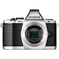 Olympus OMD EM-5 Mirrorless Camera (Body) with 8GB Card, sliver