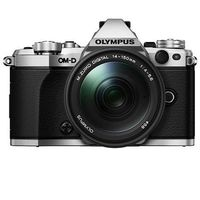 Olympus OMD EM-5 Mark II with M. Zuiko ED 14-150mm f4.0-5.6 Lens & 8GB Card, silver