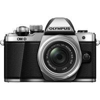 Olympus OM-D E-M10 MarkII (14-42mm II R) Micro Four Thirds Mirrorless Camera, silver