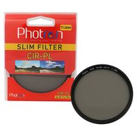 Photron CIR-PL 77mm CPL Filter, Slim
