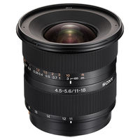 Sony DT 11-18mm F4.5-5.6 Lens