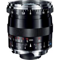 Zeiss 21mm f/2.8 Biogon T* ZM Manual Focus Lens for Zeiss Ikon and Leica M Mount Rangefinder Cameras (Black)