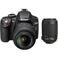 Nikon D3200 (18-55mm VRII+ 55-200mm VRII) DSLR Kit