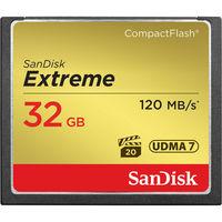 SanDisk 32GB Extreme CF Memory Card