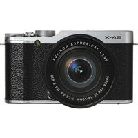 Fujifilm X-A2 (16-50mm) Mirrorless Camera - Silver