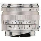 Zeiss 28mm f/2.8 Biogon T* ZM Lens (Silver)