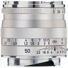 Zeiss 50mm f/2 Planar T* ZM Manual Focus Lens for Zeiss Ikon and Leica M Mount Rangefinder Cameras (Silver)