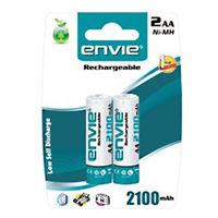 Envie Ni-Cd Rechargeable Battery AA 2100mAh