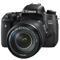 Canon EOS 760D (EF-S18-135mm IS STM) DSLR Kit
