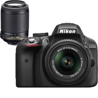 Nikon D3300 (18-55mm VR II+ 55-200mm VR II) DSLR Kit