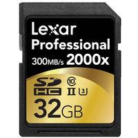 Lexar PRO SDHC 32GB 2000X C10 USH-1 Memory Card
