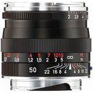 Zeiss 50mm f/2 Planar T* ZM Manual Focus Lens for Zeiss Ikon and Leica M Mount Rangefinder Cameras (Black)