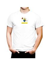 AKS Splash Happy Minion Stylish Men's T Shirt (SPCA2152), white, s