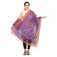 Pochamaplly or Ikat Silk Cotton Handloom Dupatta